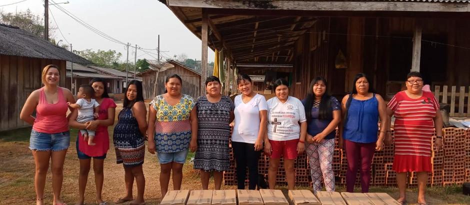 Primeira remeça entregue para todas as aldeias do Território Paiter Suruí ( Ação JBS)