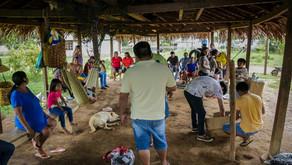 Entrega de materiais para auxilio na coleta de castanha e limpeza dos castanhais e carreadores