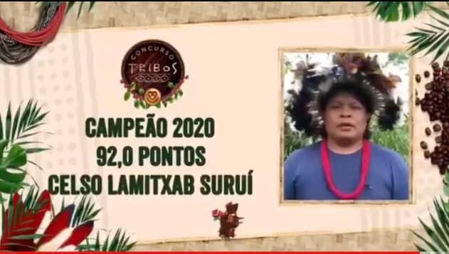 Concurso Tribos 2020 tem Robustas Amazônicos de origem indígena.