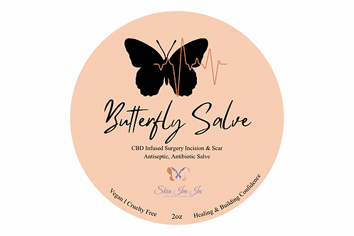 Butterfly Salve CBD infused Surgical Healing Salve