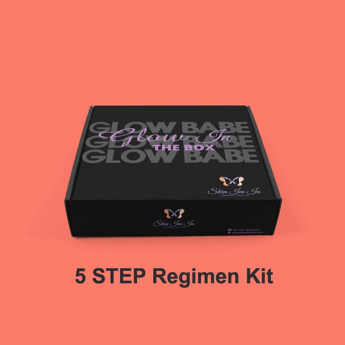 GLOW IN THE BOX 5 Step Essential Kit- (OILY,ACNE PRONE, PROMBLEMATIC) SKIN TYPE