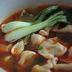Dumplings in Spicy Chicken Soup