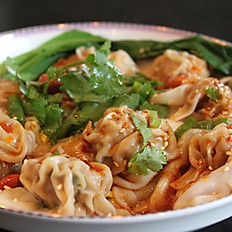 Spicy Wonton with Special Chilli Pepper Sauce