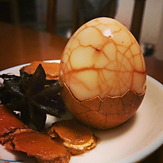 Egg boiled in Soy Sauce&Tea