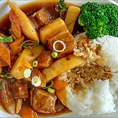 Braised Pork Belly on Rice