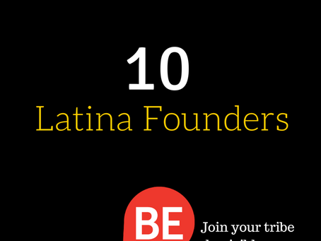 Irene Vilar selected in BeVisible Ten Latina Founders