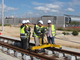 מערכת נוספת של חברת AMBERG שוויץ  הוטמעה  בהצלחה  בישראל  בפרוייקט  הרכבת הקלה בתל אביב
