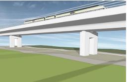 """ניטור דינאמי של """"הגשר הירוק"""" בארדלי (לונדון) ע""""י חברת Senceive"""