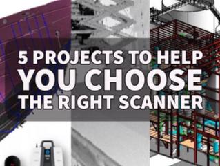 סורק הלייזר הנכון למשימה הנכונה – 5 פרוייקטים שיעזרו לכם לבחור