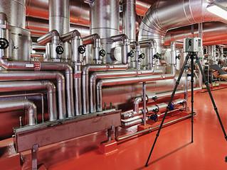 שיפור הבטיחות במבנים תעשייתיים באמצעות סריקת מציאות תלת ממדית
