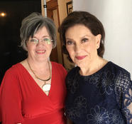 Me with the amazing Kelly Bishop!