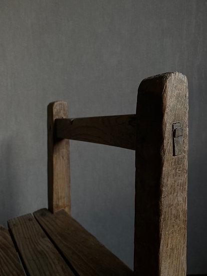 楢材学校椅子