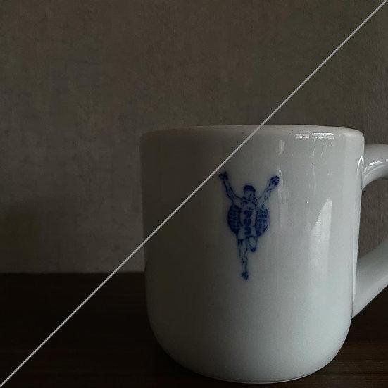 江崎グリコ片手付円筒碗