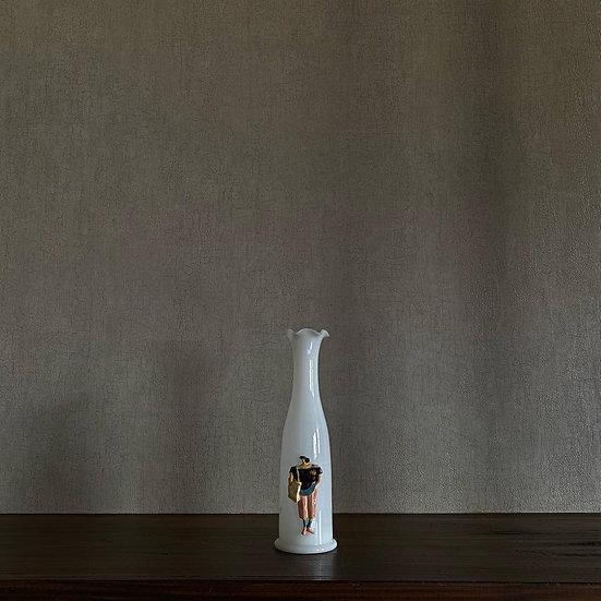 乳白色硝子花瓶