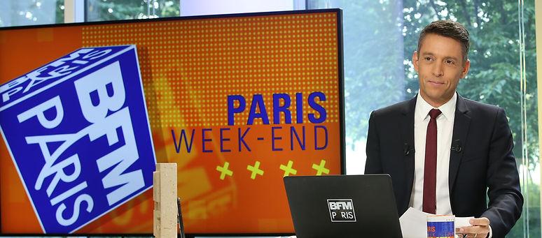 Stephane Jobert BFM Paris animateur journaliste radio television tv event evenement corporate