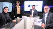 Plateau TV pour la BANQUE POPULAIRE