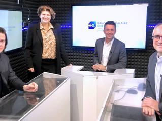 Tournage pour la Banque Populaire Rives de Paris
