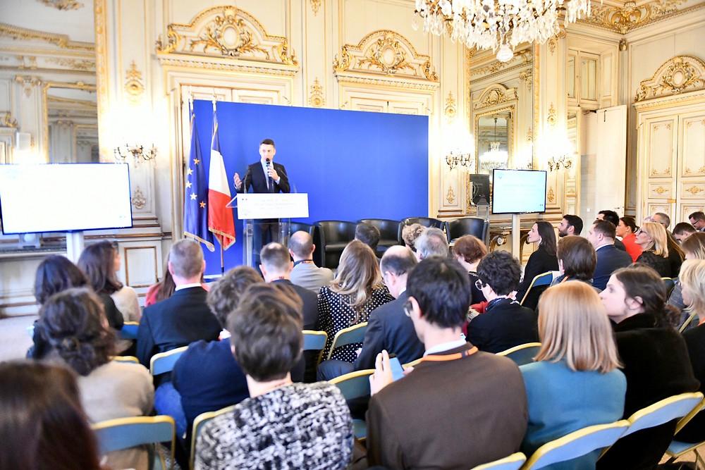 Stephane Jobert au Ministère de la Transition Ecologique et Solidaire