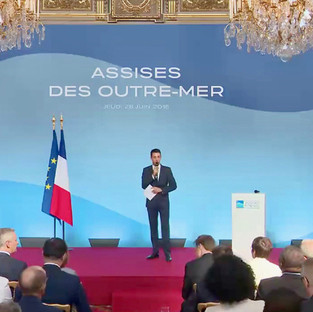 Présentation au Palais de L'Elysée