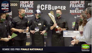 Présentation de la Coupe de France du Burger 2020
