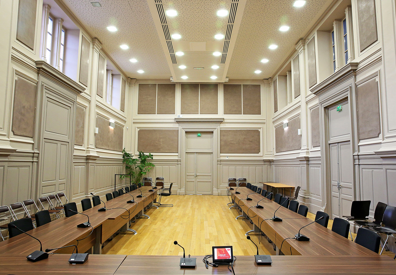 Salle du conseil municipal à Lavaur