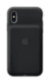 iPhoneXS SmartBatteryCase Black back.png