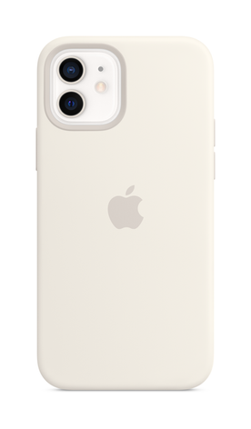 iPhone 12 mini Silicone Case with Magsafe - White