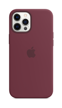 iPhone 12 Pro Silicone Case with Magsafe - Plum