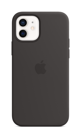 iPhone 12 Silicone Case with Magsafe - Black