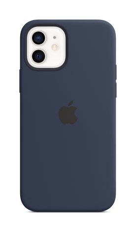 iPhone 12 Silicone Case with Magsafe - Deep Navy