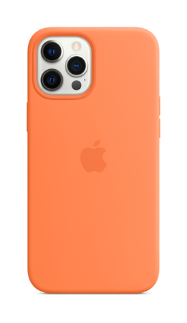 iPhone 12 Pro Silicone Case with Magsafe - Kumquat