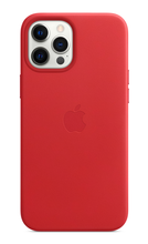 iPhone 12 Pro Leather Case with MagSafe - Red