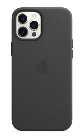 iPhone 12 Pro Leather Case with MagSafe - Black