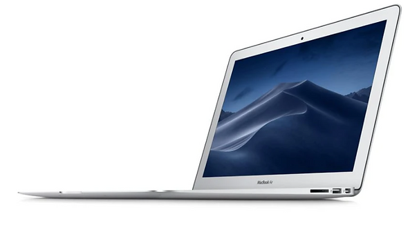 MacBook Air with USB