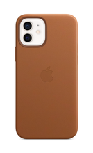iPhone 12 Leather Case with MagSafe - Saddle Brown
