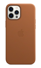 iPhone 12 Pro Leather Case with Magsafe - Saddle Brown