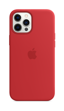 iPhone 12 Pro Silicone Case with Magsafe - Red