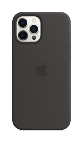 iPhone 12 Pro Silicone Case with Magsafe - Black