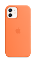 iPhone 12 Silicone Case with Magsafe - Kumquat