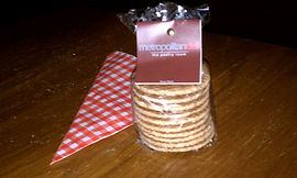 Photo of the stroopwafels Todd brought back from Amsterdam