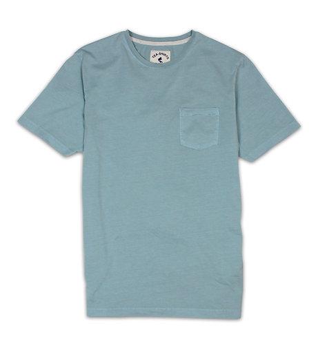 Washed Sage Pocket Tea-Shirt