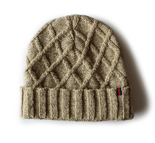 Sand Cable Watch Cap