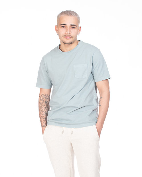 Washed Sage Pocket Tea-Shirt