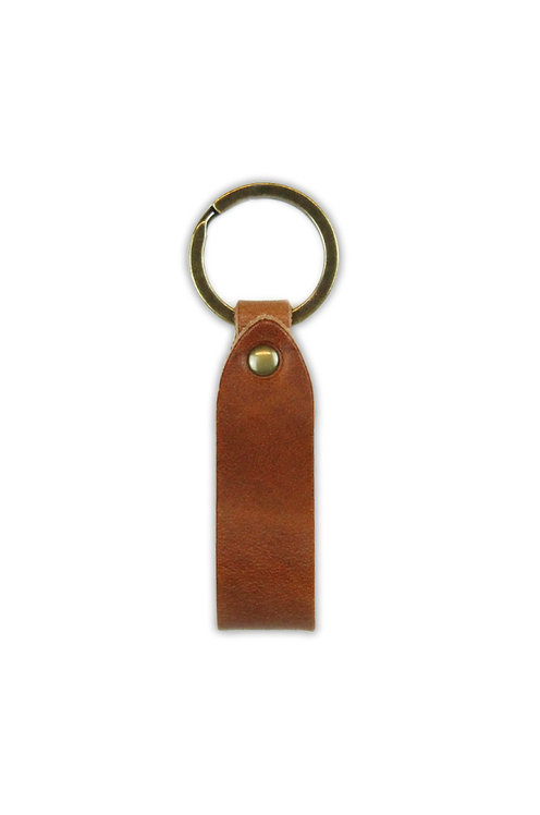 Cognac Key Ring
