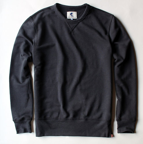 Seaport Crewneck - Vintage Black