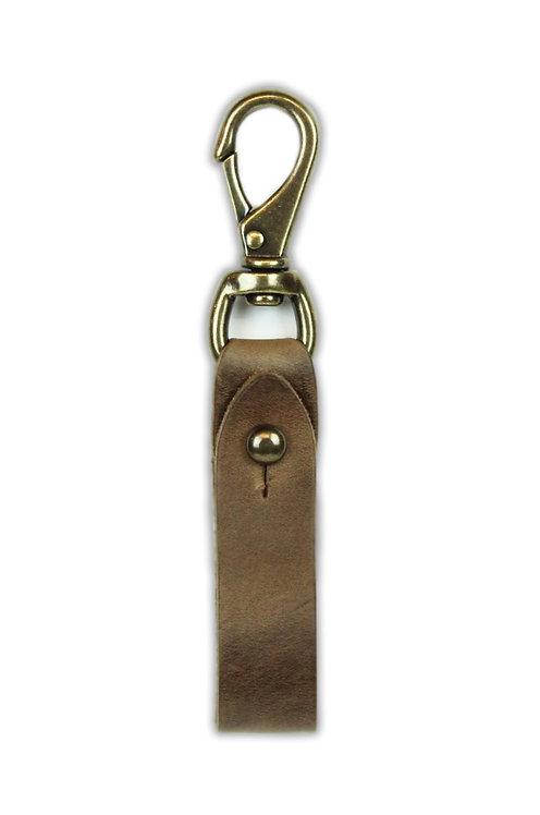 Medium Brown Key Fob