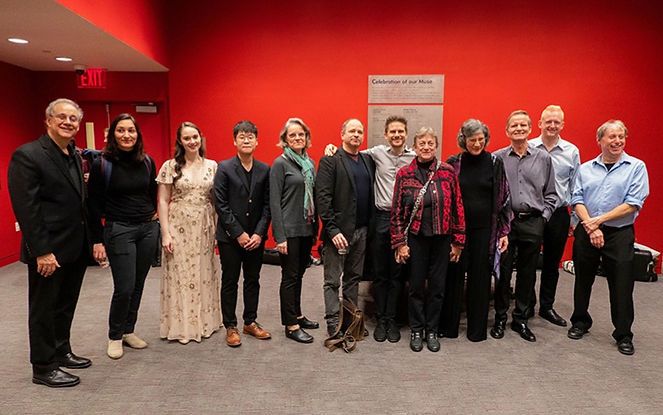 Da Capo with composers and guest artists