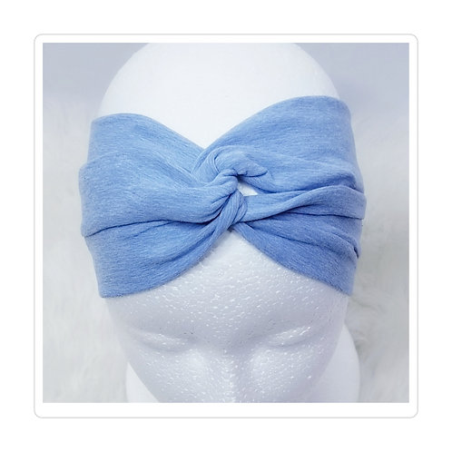 Forget Me Not Blue Looped Headband