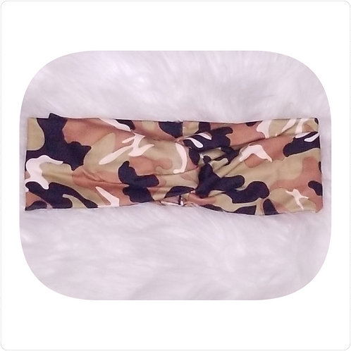 Camouflage Looped Headband