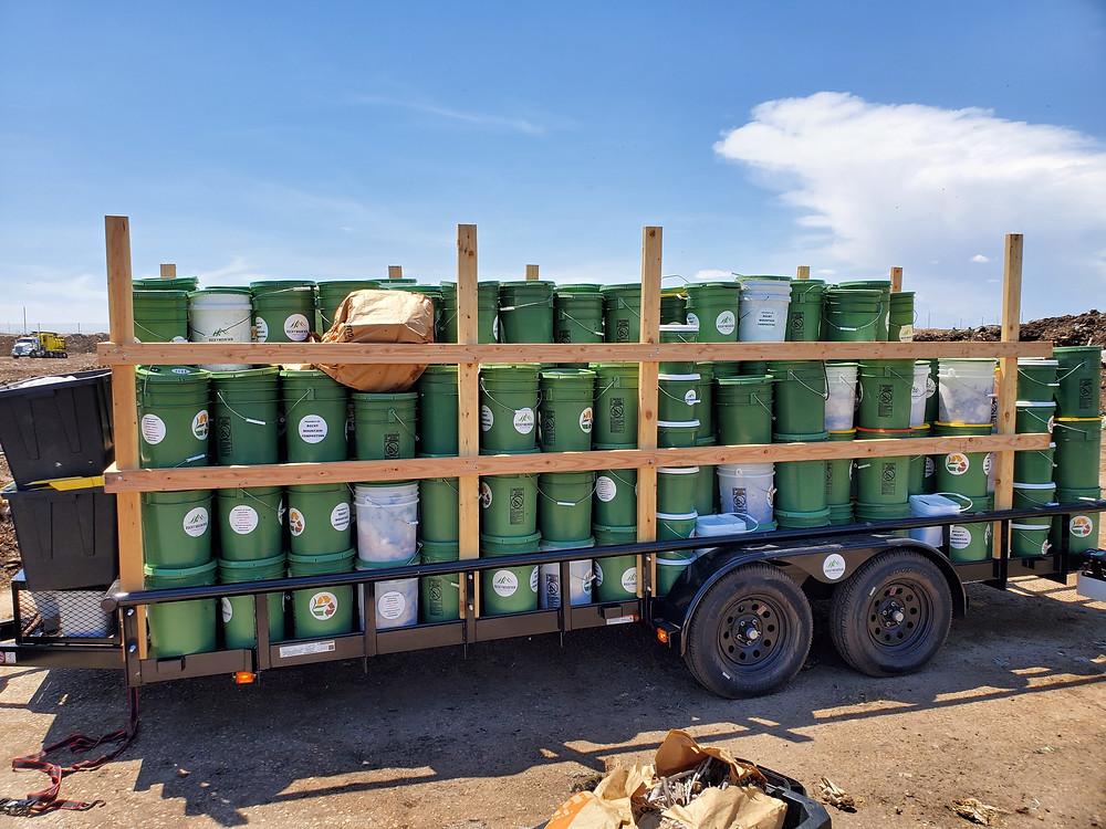 Compost Drop-Off in Denver - Rocky Mountain Compost in Colorado